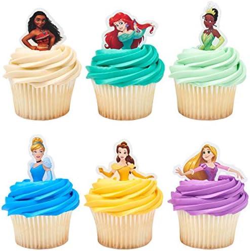 24 Disney Princess Decopics Cupcake Topper Picks product image
