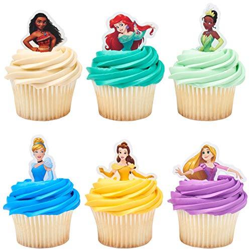 24 Disney Princess Decopics Cupcake Topper Picks