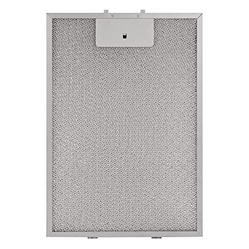 Fettfilter metallfettfilter för köksfläkt ersättning för Bosch 00362380 320 x 220 mm metall fettfilter för köksfläkt tillbehör till köksfläkt metallfilter för avgasfläkt