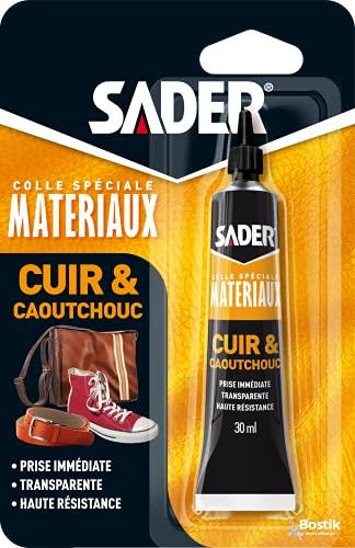 Sader Colle pour Cuir/Caoutchouc Tube 30 ml