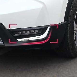 Außen Nebelscheinwerfer Lampe Augenbrauen Verkleidung Fit für Honda CRV CR V 2017–2018ABS Chrom 2/Set