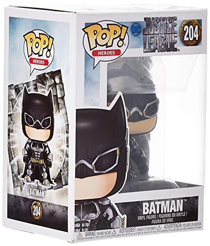 DC-Funko Pop Vinyl Figura de Vinilo Batman, colección Justice League, Multicolor 13485