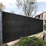 Royal Shade 6' x 50' Black Fence Privacy...