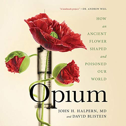 Opium audiobook cover art