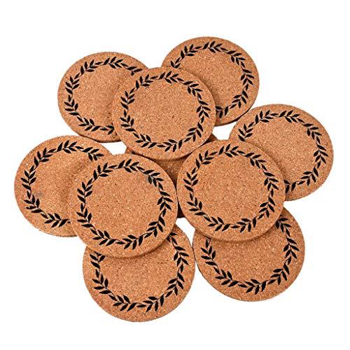 Hellery 10 Stück Puppenhaus Möbel Miniatur Kaffeetasse Modell Puppenstube Deko