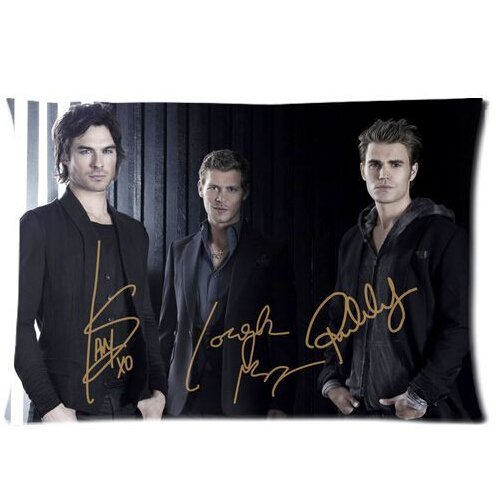 Custom the Vampire Diaries Hot Guys Funda de almohada Protectora 20'x30' Dos...