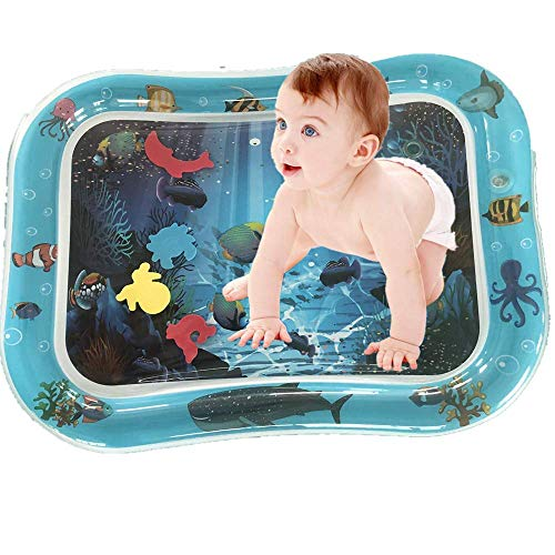 Great Deal! Baby Tummy Time Water Play Mat - Sensory Developmental Toys for 3 6 9 Months Newborn...