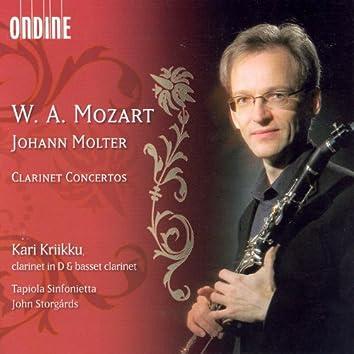 Mozart, W.A.: Clarinet Concerto in A Major / Molter, J.C.: Clarinet Concertos Nos. 1, 3 and 4