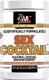 Advanced Molecular Labs - Sex-Cocktail Supplement, Vitamin C and L-Citrulline, Natural Sexual Enhancement Supplement, Sex Cocktail Powder, Sex Supplement for Men & Women, 11.6 oz