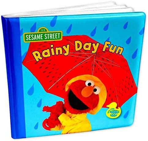 Bath Toy Book for Kids Rainy List price Sesame Street Day Elmo Popular products