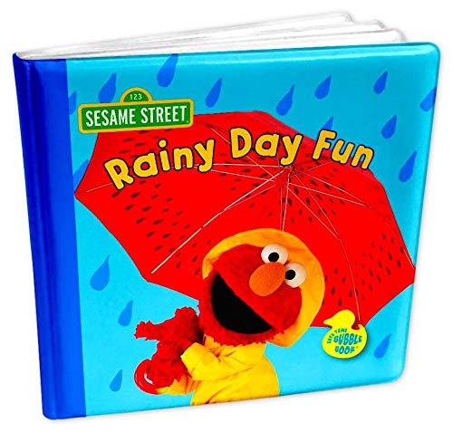 Bath Toy Book for Kids (Sesame Street Elmo Rainy Day)