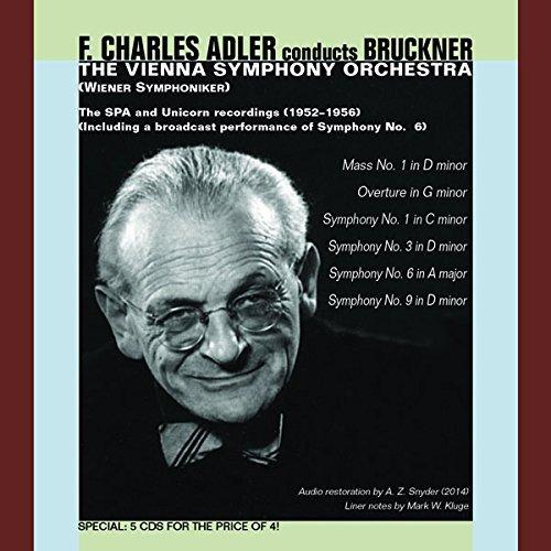 Adler Conducts Bruckner-Mass 1 Syms 1 3 6 & 9 (5 CD)