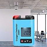 Detector De Oxígeno, Medidor De Detector De Oxígeno, Detector De Gas Portátil con Detector De Oxígeno para Detección De Gas para La Industria