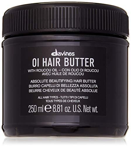 Davines Oi Hair Butter Traitement anti-frisottis pour cheveux, 250 ml