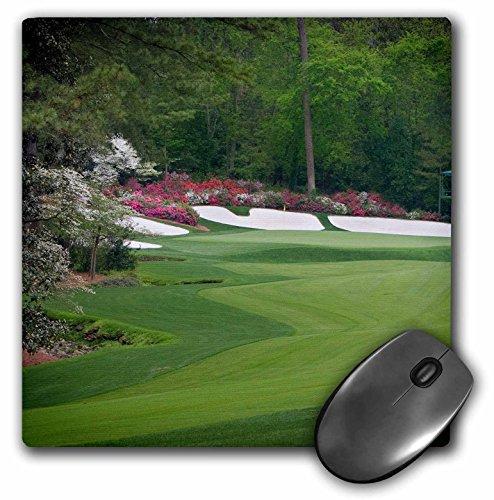 "3dRose Augustas Amen Corner Golf Course - Where Dreams are Made Mouse Pad, 8"" x 8"" (mp_131408_1)"
