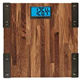 Taylor Digital 440 lb Capacity Bathroom Scale Farmhouse Wood
