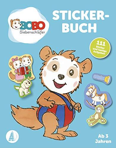 Bobo Siebenschläfer Stickerbuch: Ab 3 Jahren