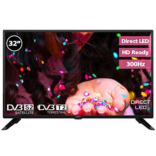 Television LED 32  INFINITON INTV-32M302 HD (USB, HDMI, Modo Hotel, Reproductor Grabador USB)