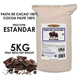 Cacao Venezuela Delta - Chocolate Negro Puro 100% · Tipo Estándar (Pasta, Masa, Licor De Cacao 100%) · 5kg
