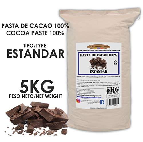 Cacao Venezuela Delta - Cioccolato Fondente Puro al 100% · Tipo Standard (Pasta, Massa, Liquore di Cacao al 100%) · 5kg