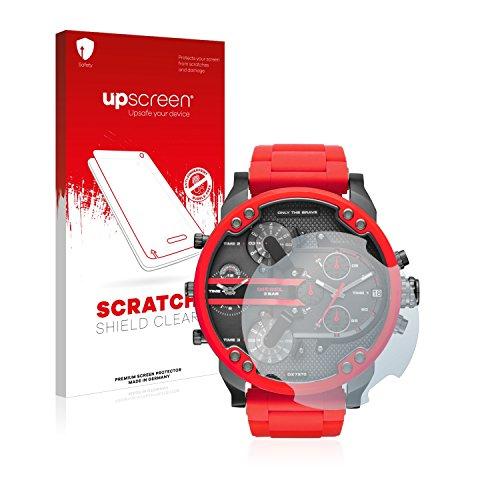 upscreen Schutzfolie kompatibel mit Diesel DZ7370 – Kristallklar, Kratzschutz, Anti-Fingerprint