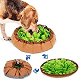 ノーズワークマット 犬 ノーズワーク 犬 おもちゃ ペット 知育玩具 犬のおもちゃ ノーズ ワーク マット いぬのおもちゃ 嗅覚訓練 犬おもちゃ 運動不足/分離不安/集中力向上 犬ノーズワークマット 犬用おもちゃ (グリーン)
