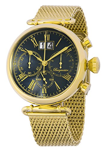 Burgmeister Reloj de caballero de cuarzo (con cronómetro) Toulouse, BMP01-239