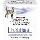 Purina Pro Plan Veterinary Supplements Probiotics Cat Supplement, Fortiflora Feline Nutritional Supplement - 30 ct. Box