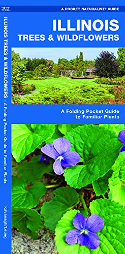 Illinois Trees & Wildflowers: A Folding Pocket Guide to Familiar Plants (Pocket Naturalist Guides)