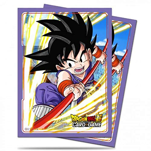 Ultra Pro ULP85774 Dragon Ball Z Explosive Spirit Son Goku Deck Protectors - 65 Count image