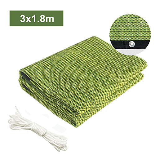 Sunblock Shade Cloth, Greenhouse Shade Sails 50-70% Shading Rate Garden Plant Pergola Shading Netting with Grommets for Flower Shade Cover