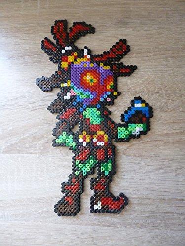 Sprite of Skull Kid - The Legend of Zelda Majora's mask • Hama Beads • Pixel Art