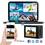 AKASO Brave 4 4K 20MP WiFi Action Camera Ultra HD with EIS 30m Underwater Waterproof Camera Remote Control 5X Zoom… 13 UPGRADE SERIES OF AKASO EK7000: Featuring 4K/24fps, 2K/30fps and 1080P/60FPS video resolution and 20MP photos, AKASO Brave 4 action camera enables you to take incredible photos and ultra HD videos, clearly recording the beauty and wonders in life! OPTIONAL VIEW ANGLE AND ANTI-SHAKING: Adjust the view angle of this action camera according to your needs between 170°, 140°, 110°, and 70°. Built in smart gyroscope for anti-shaking and image stabilization to make your video much more smooth. SPORTS CAMERA WITH WIFI AND HDMI: Sharing & editing videos from an action camera is easier with the free app. Just download the App on your phone or tablet and connect with this action camera. Wi-Fi signal ranges up to 10 meters. With HDMI Port allows you to connect it with television.