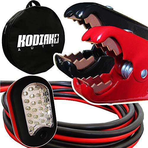 Kodiak Heavy Duty 1 Gauge x 25 Ft Jumper Cables