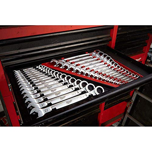 MLW48-22-9516 Ratcheting Combination Wrench Set Metric