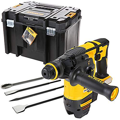 Dewalt DCH333 54v Flexvolt SDS+ Hammer Drill with DWST1-71195 Case & 4pc Chisel Set