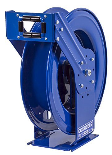Coxreels THPL-N-1100 Supreme Duty Spring Rewind Hose Reel for grease/hydraulic oil: 1/4' I.D., 100' hose capacity, less hose, 5000 PSI