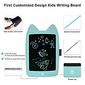 Agoigo Kids Writing Tablet Toys for 3-12 Years Old Boys Girls Birthday Gifts, LCD Writing Tablet 8.5 Inch Electronic…