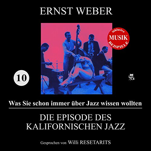 Couverture de Die Episode des kalifornischen Jazz