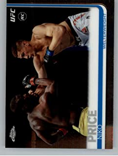 2019 Topps UFC Chrome MMA #32 Niko Price Welterweight Official RC Rookie CardUltimate Fighting Championship Trading Card Pick From List
