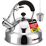 Stove Top Whistling Tea Kettle - Only Culinary Grade Stainless Steel...