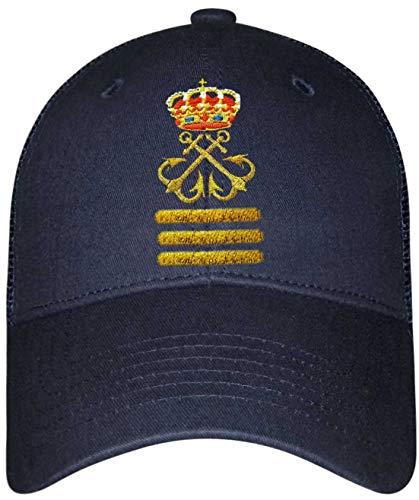 Gorra Lisa Capitán de Yate (CY)