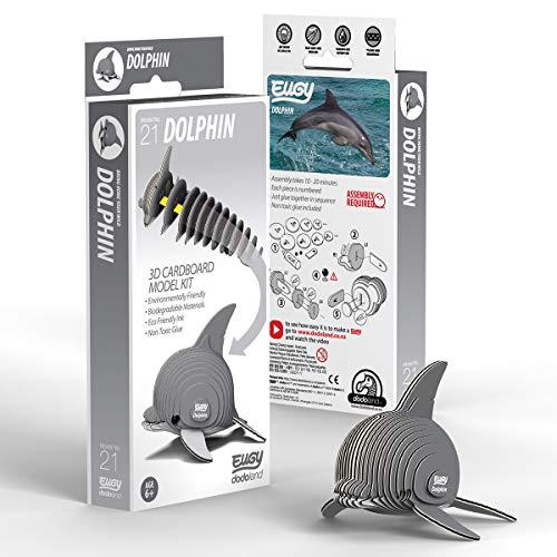 EUGY021 돌고래 친환경 3D 종이 퍼즐