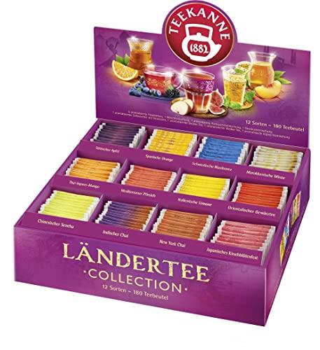 Teekanne Ländertee Collection Box Bild