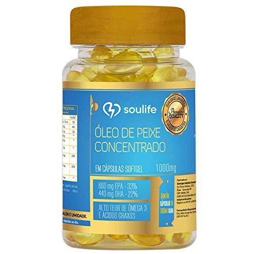 Óleo de Peixe Concentrado 1000mg - Soulife (150)