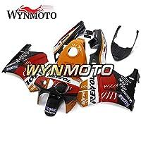 WYNMOTO オレンジと赤の外装部品セット適合フィットホンダ VFR400R NC30 V4 1988 89 1990 1991 1992 プラスチック ABS フェアキットカバー