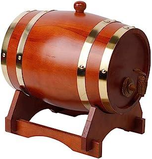 Tonneau à vin en Bois Fûts de Chêne Vintage, 5 litres Whiskey Barrels dans Fûts de chêne en Bois, Peut être utilisé pour F...