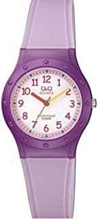 Q&Q Women's White Dial Resin Band Watch - VR75J005Y