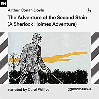 The Adventure of the Second Stain audiobook cover art