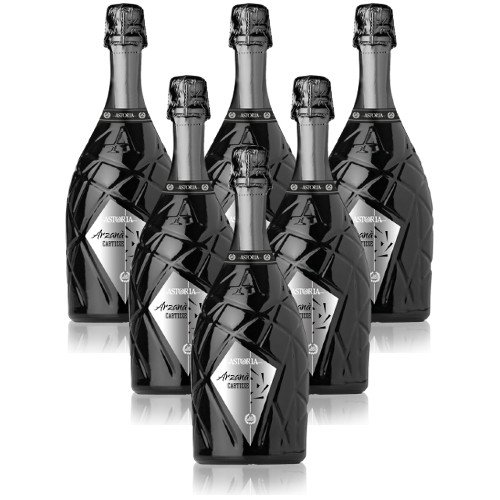 Cartizze Superiore DOCG dry Arzanà Astoria Italienischer Sekt (6 flaschen 75 cl.)